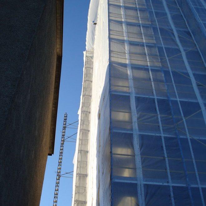 Byggvärme till Casab Fasad